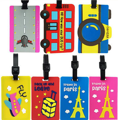 Luggage Tag ID Address Tag for Suitcase Backpack Handbag Name Label Plane Travel