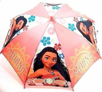 "Disney Moana Adventurous Teenager Girls 21"" Umbrella 3D- Handle"