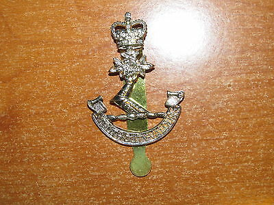 QC Canadian Cap Badge Royal Military College of Canada nice