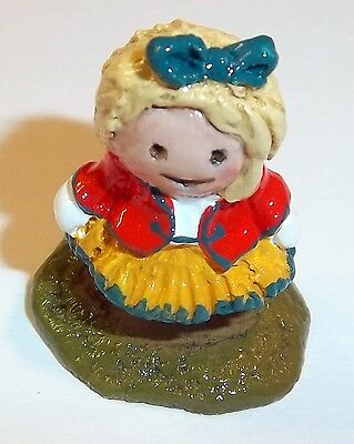 Wee Forest Folk - Toury The Swedish Girl - Factory Gift