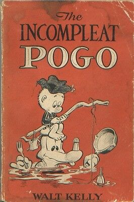 Pogo - The Incomplete Pogo (4th printing, 1954)