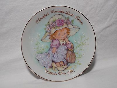 1981 Avon Cherished Moments Last Forever Mother's Day 5 inch Plate