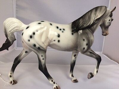 """Peter StoneTraditional Model horse--  Gorgeous Glossy """"Prince Charming"""" TWH"""