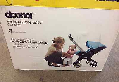 New Doona Infant Car Seat Stroller - Base Included Love - Red
