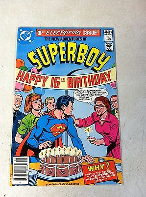 New Adventures Of Superboy #1, 16Th Birthday Cover, 1980