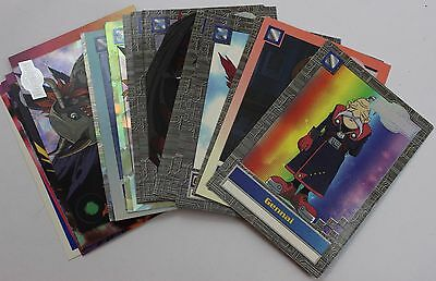 Digimon Animated Series 2 Upper Deck Trading Cards ~ Near Complete