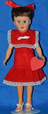 Vintage American Character Toni Type Circle P Doll Dress w/Stand (Little Miss Re
