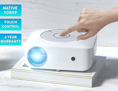 Android HD LED Projector DLP 6000 lumen WIFI Home Theatre HDMI 3D Media player