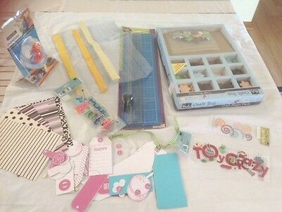 Scrap booking craft sundries bits and peices