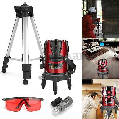 Professional Self Leveling Laser 8 Lines Cross Line + Vertical Line with Tripod