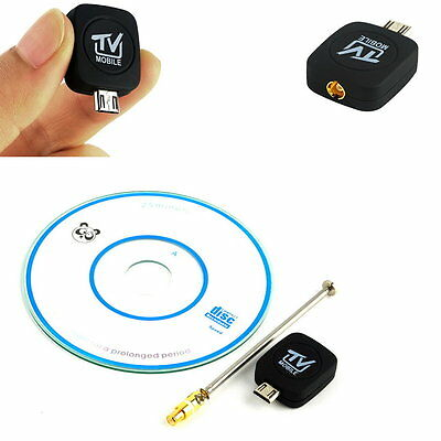 1pc Mini Micro USB DVB-T Digital Mobile TV Tuner Receiver for Android 4.0-5.0 X3