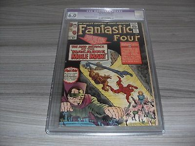 Fantastic Four #31 Cgc Restored Grade 6.0 (Fine) Marvel Stan Lee Jack Kirby 1964