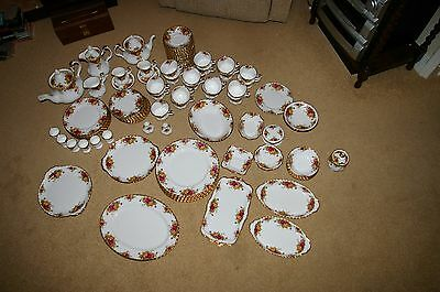 Royal Albert Old Country Roses 100+ pieces