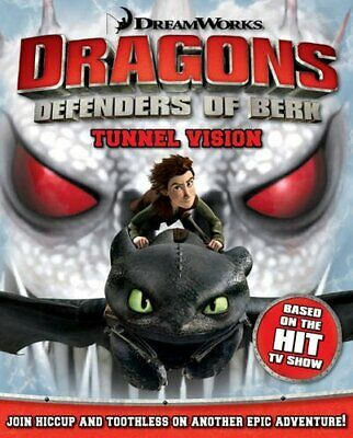 How to Train Your Dragon - Tunnel Vision by Igloo Books Book The Cheap Fast Free