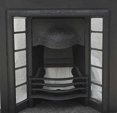 Professionally restored early 20th century fireplace