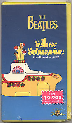 VHS - THE BEATLES - Yellow Submarine - ITA 1999 SIGILLATA - FACTORY SEALED