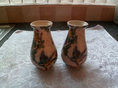 Pair of matching Gibson vases