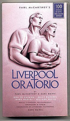 VHS - PAUL McCARTNEY - Liverpool Oratorio - UK 1991 SIGILLATA - FACTORY SEALED