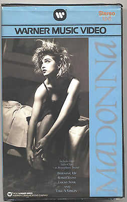 VHS - MADONNA - Four Video Clips - UK 1984 - USATA