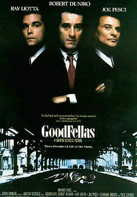 GoodFellas - Ray Liotta, Robert De Nir - Film Poster