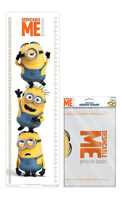 Messleisten - Despicable Me (Stacked) Minions 30x100 cm - height chart