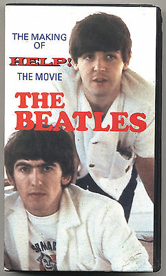 VHS - THE BEATLES - The making of HELP! the movies - UK 1988 - USATA