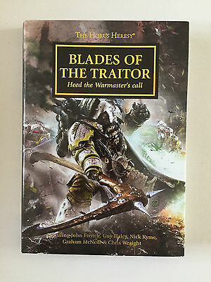 Warhammer 40,000 40K 30K The Horus Heresy Blades Of The Traitor Hardback
