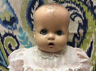 """Early 16"""" Horsman Composition Doll - TLC Needed"""