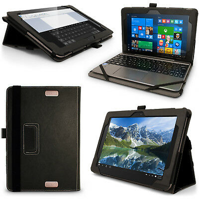 """PU Leather Folio Case for Asus Transformer Book T101HA 10.1"""" Flip Stand Cover"""