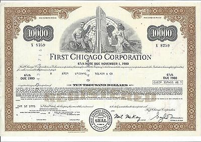 First Chicago Corporation......1975 Note
