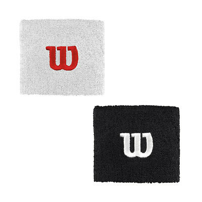 Wilson Sport 2017 Mens Sweat Wristbands W Tennis Sweatbands - 2 Pack