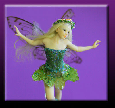 Tinkerbell Fairy - easy to make polymer doll press mold by Patricia Rose
