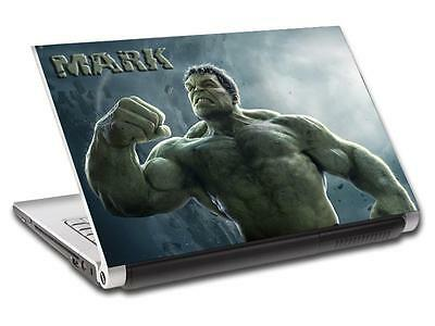 Hulk The Avengers Personalized LAPTOP Skin Vinyl Decal Sticker ANY NAME L322