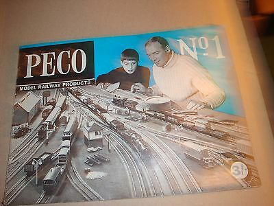 Peco Model Railway Products catalogue No1 from 1968