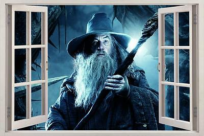 Gandalf Lord Of The Rings 3D Window Decal Wall Sticker Decor Art Mural H842