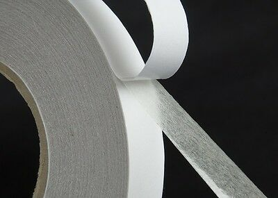 12MM x 50 METRES Roll Double Sided Self Adhesive Sticky Tissue Tape