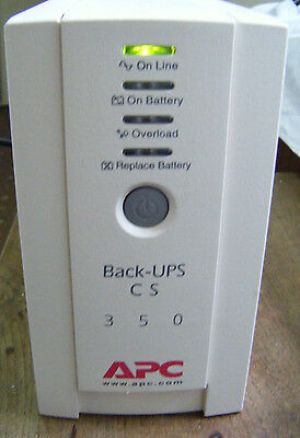 APC Back-UPS CS 350 - Uninterruptible Power Supply -220-240v
