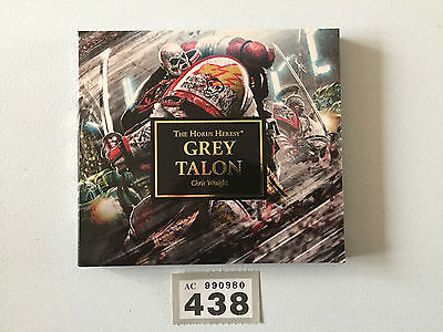 Black Library Warhammer Audio Cd Novel The Horus Heresy Grey Talon Chris Wright