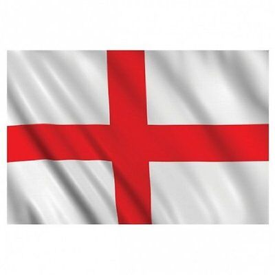 5ft x 3ft 100d Fabric England Flag of St George's Day Cross Flag of England
