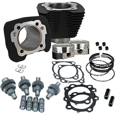 S&S Cycle Wrinkle Black 883cc to 1200cc Hooligan Big Bore Kit XL 00-17