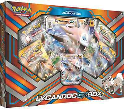 Pokemon TCG: Lycanroc GX Box (Booster Packs / Promo Cards)