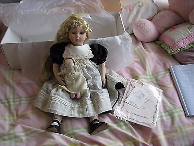 """Dolls By Pauline Pauline's Doll Limited Edition Signed 395/1500 BIANCA 19.5"""""""