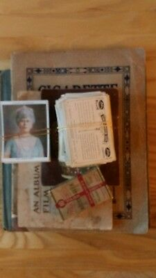 over 160 different sized + 2 empty albums cigarette cards