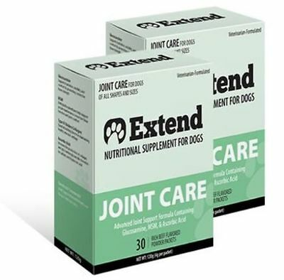 Extend Joint Care For Dogs - 2 Box Special - Glucosamine for Dogs - New