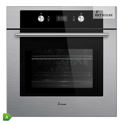 KKT KOLBE Built-in oven Self-cleaning telescopic bar knobs + Touch-Display timer