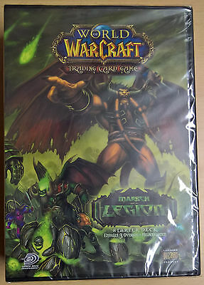 World of Warcraft (WoW) TCG Marsch der Legion Start Deck (Mint,Sealed)