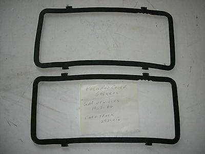 1963-88 GM & Chevrolet truck 292 cu.in. pushrod cover gaskets - NOS