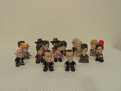 """Doctor Who  50th Anniversary NEW Collection Mini 3"""" Vinyl Figurines (Lot of 16)"""