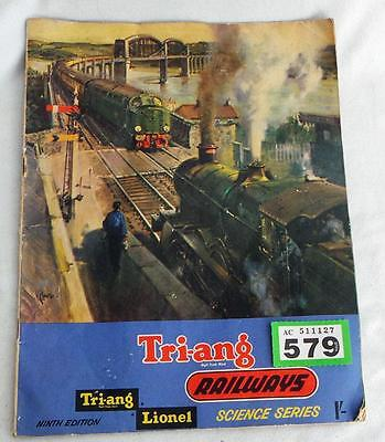 G579 Tri-ang catalogue 9th edition + price list for 11th edition