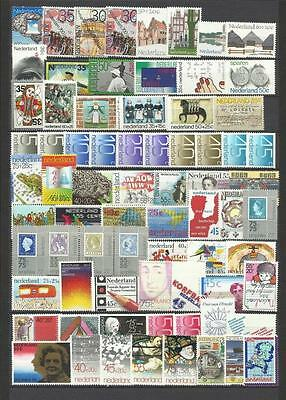 Netherlands. Collection of 200 different MNH stamps.